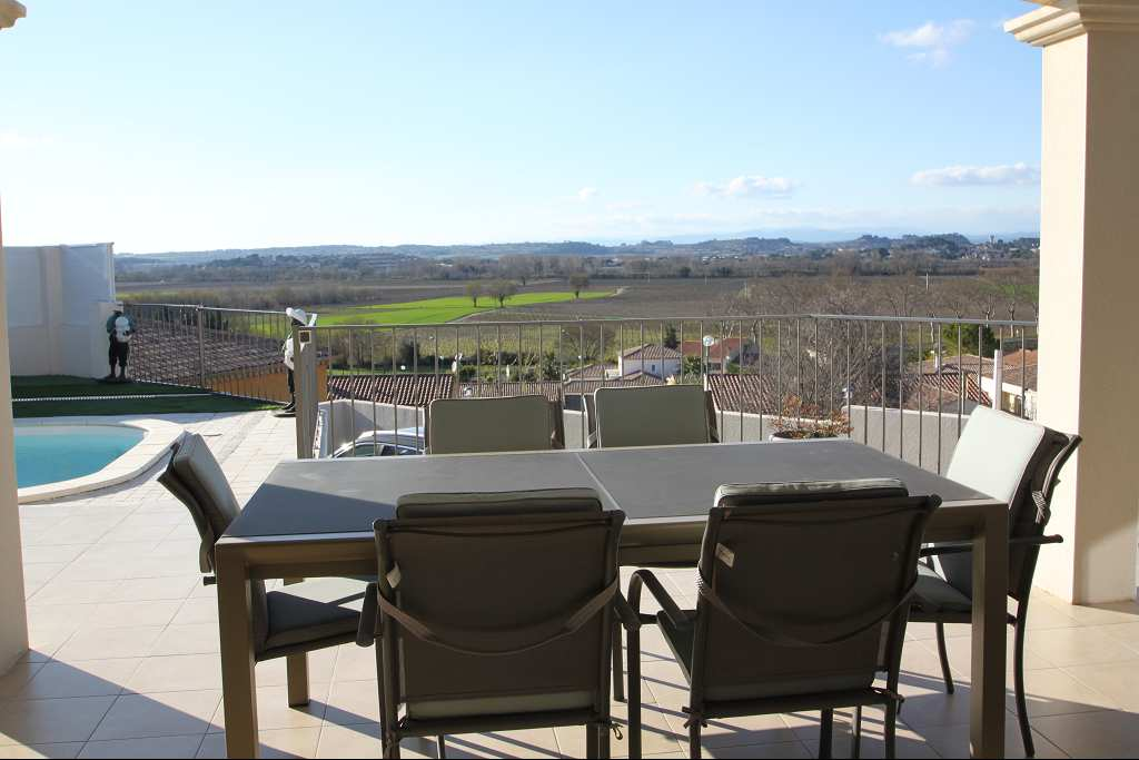 Villa with views for sale Herault